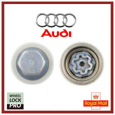 Audi New Locking Wheel Nut Key Bolt Letter H '808' UK Fast and Free