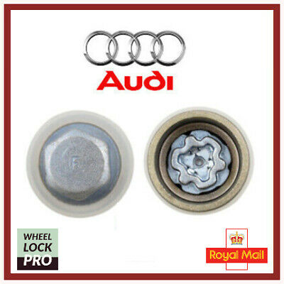 Audi New Locking Wheel Nut Key Bolt Letter F '806' UK Fast and Free