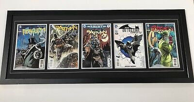 Changeable 5 Comic Frame. Safe Secure Way To Display Comics (Books Not Included)
