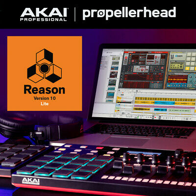 Propellerhead Reason 10 Lite account with code (non transferable)
