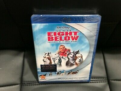 Disney's EIGHT BELOW Blu-ray NEW Sealed  Paul Walker