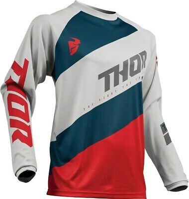Thor Sector Shear S9 Light Gray Jersey