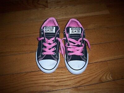 0e8845933545d0 CONVERSE ALL STAR Girls Juniors Low Top Sneakers Size US 5.5 Purple ...
