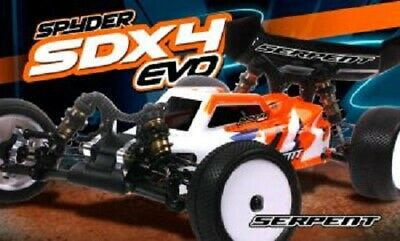 SERPENT 500021 1:10th SDX4 EVO Edition 4WD Buggy