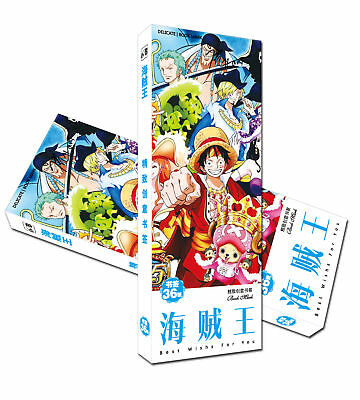 36pcs//set Bookmarks of  One Piece book mark B