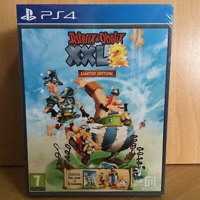 Asterix & Obelix XXL2 Limited Edition Playstation 4 PS4 SEALED NEW Road Express