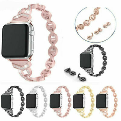 Stainless Steel iWatch Band Strap For Apple Watch Series 5/4/3/2/1 38/40/42/44mm