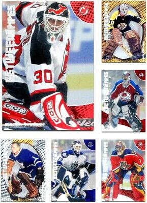 2001-02 Between the Pipes Foil **** PICK YOUR CARD **** From The SET