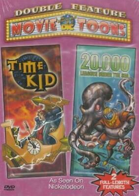 20- 000 Leagues Under The Sea/ Time Kid (Double Feature) (DVD- 2005)
