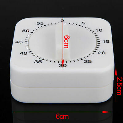 1 Hour 60 Mins Mechanical Kitchen Cooking Game Count Down Up Timer Counter Alarm