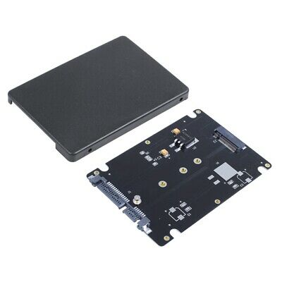 M.2 NGFF (SATA) SSD to 2.5 inch SATA Adapter Card 8mm Thickness Enclosure P3Y5