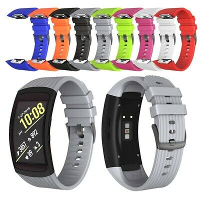 Soft Silicone Replacement Watch Band Wrist Strap For Samsung Gear Fit2/Fit2 Pro