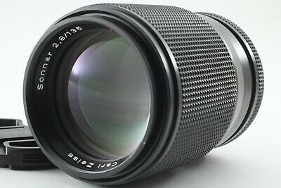 【Excellent 5】Contax Carl Zeiss Sonnar T* 135mm F/2.8 MMJ MF Lens From JAPAN A151