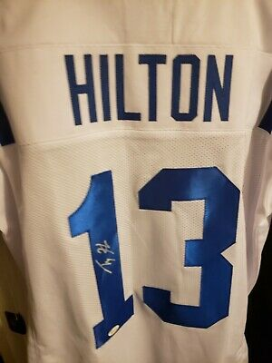 low priced eb68c 1ee74 TY HILTON SIGNED Autographed Jersey Indianapolis Colts JSA ...