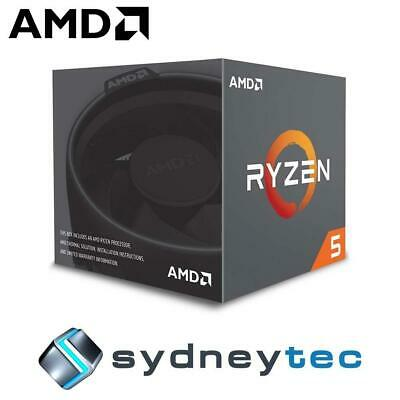 New AMD Ryzen 5 2600 6 Core AM4 3.9GHz CPU Processor with Wraith Stealth Cooler