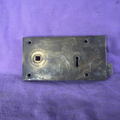 Antique Brass Door Lock. No key
