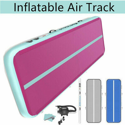 3/4/6m Inflatable Air Track Tumbling Gymnastics Mats Floor Home Training Yoga