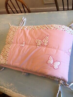 Laura Ashely Butterfly Cot Bumper