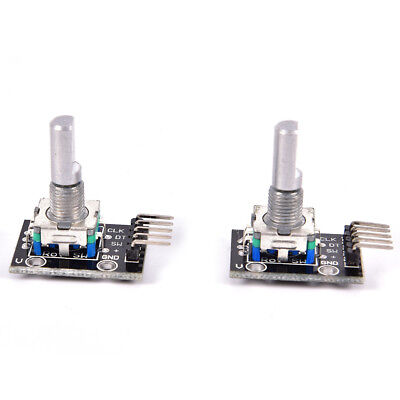 2pcs KY-040 Rotary Encoder Module for Arduino AVR PIC NEW Dh