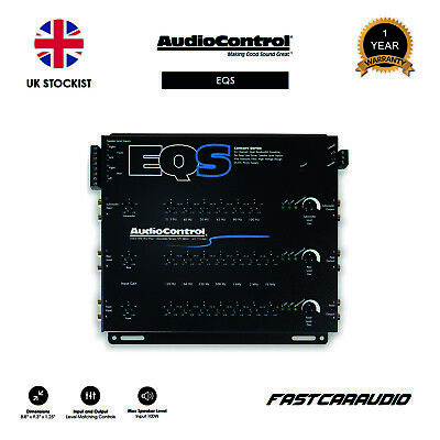 AudioControl EQS - 6-Channel Equaliser/Line Driver