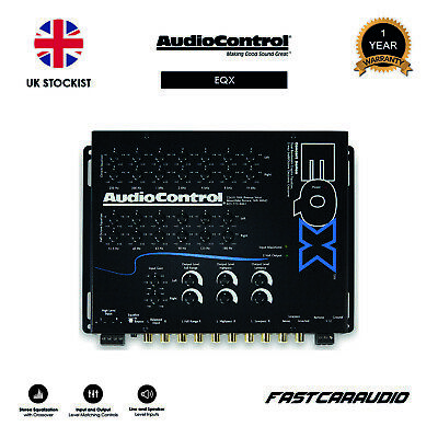 AudioControl EQX - Dual Bandwidth Equaliser/Crossover/Line Driver