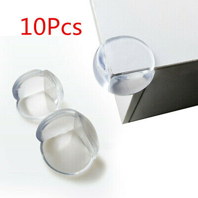 10Pcs Child Baby Safety Silicone Protector Table Corner Edge Protection Cover