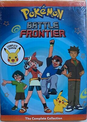 New Pokemon Battle Frontier The Complete Collection Dvd + Slipcover Sleeve