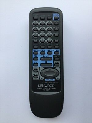 Kenwood RC-701R genuine original used remote control For XD-501 Clean Tested