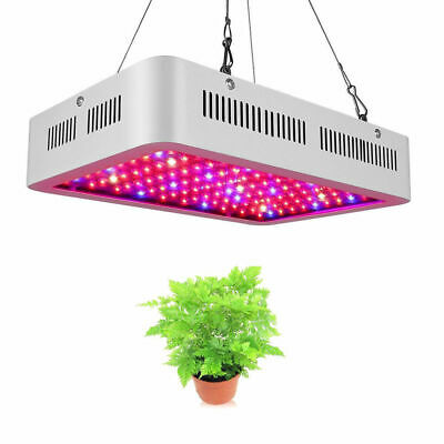 Flower Plants Grow Lamp 1000W Full Spectrum LED Panel Indoor Hydroponics System