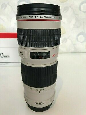 Canon EF 70-200mm f4 L USM Lens, Very Good Condition - Filter & Tripod Ring