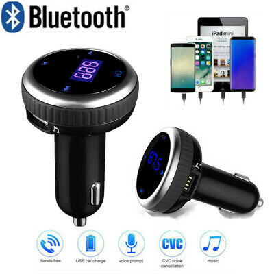 Auto Bluetooth FM Transmitter KFZ Radio MP3 Musik Player 2 USB Adapter Car Kit