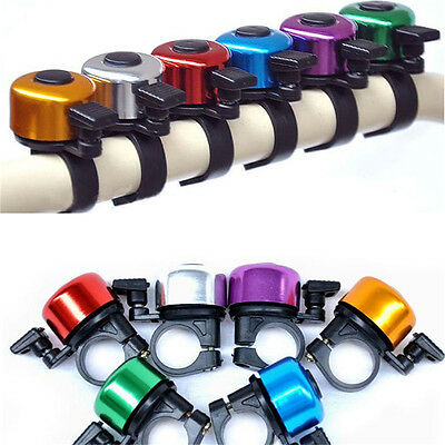 New Clear & Loud Ping Bell Bike Bicycle Handle Bar Ring Cycle Push Sports#