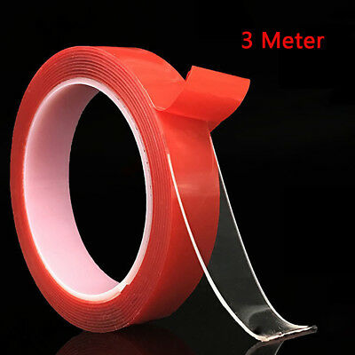Double Sided Adhesive High Strength Acrylic Gel No Traces Sticker VHB Tape#