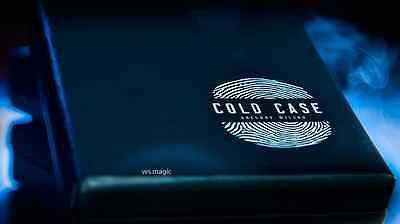Cold Case (Gimmick & Online Video) by Greg Wilson Magic Trick Street Close Up DD