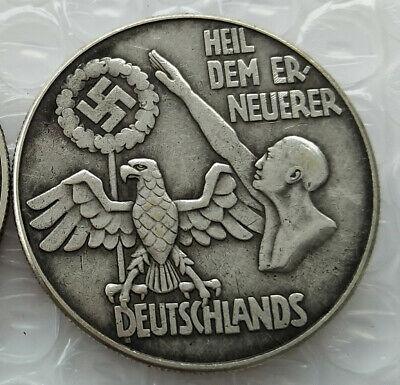 Free Coins! Hitler / Germany Exonumia Coin #24