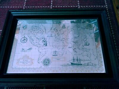 Royal Geographical Society Silver World Map