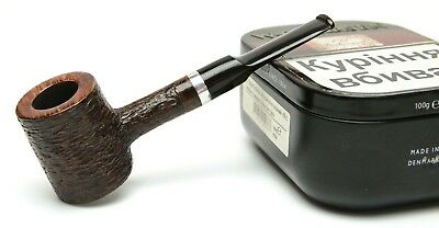 Briar Wooden Pipe For Smoking Tobacco Poker Style Personalized Gift For Smoker