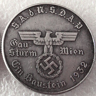 Free Coins! 1932 Hitler / Germany Exonumia Coin #33