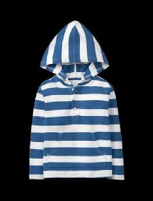 NWT Janie and Jack SEASIDE COURT 3 6 M Hooded Striped Shirt