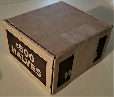 One Bank Sealed Unopened Box Kennedy Half Dollar Rolls Less Than $12 A Roll