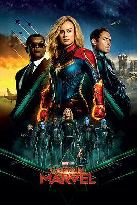 "CAPTAIN MARVEL - MOVIE POSTER / PRINT (REGULAR STYLE 2 - EPIC) (SIZE: 24 x 36"")"
