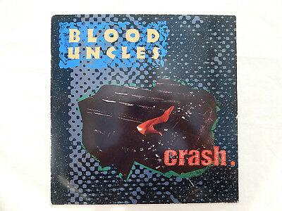 "Listen - BLOOD UNCLES - Crash 1987 Alternative Rock 12"" Virgin VS964 12"