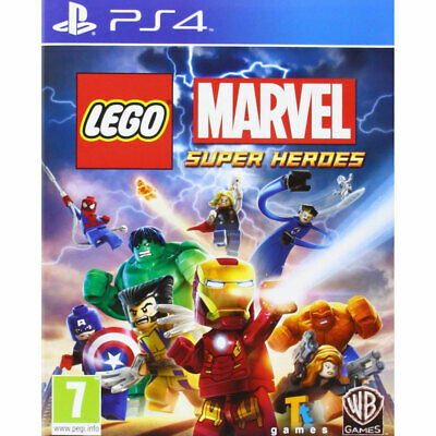 LEGO Marvel Super Heroes (PS4) New and Sealed