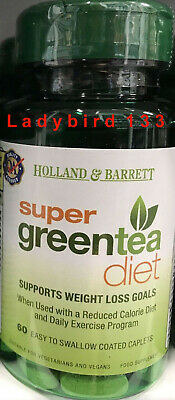 Holland Barrett Super Green Tea Diet For Weight Loss 60 Tablets