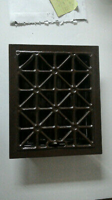 Vintage  Metal Floor Heating Vent Grate Hardware Home Squares