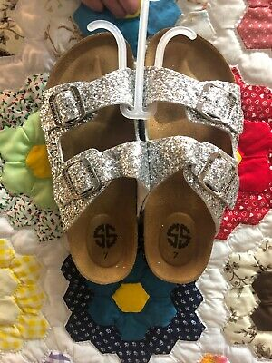 1ec5f85eb Women s sizes 6-10 Simply Southern Sparkle Sandals Gold or Silver Sparkle