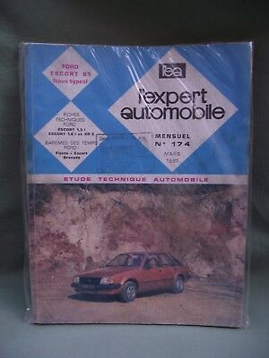 Magazine L'expert Automobile Numero 174 03/81 Ford Escort 81 Tous Types