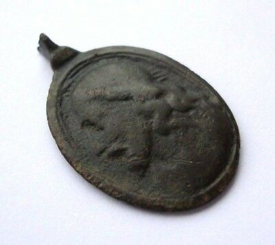 Ancient Old Catholic ? Medallion Pendant M