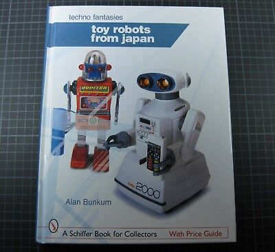 Toy Robots From Japan Alan Bankum Roboter Buch Techno Fantasie Sehr Gut!!!