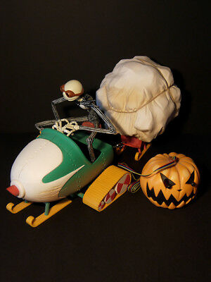 INTROVABILE !! Nightmare Before Christmas slitta/sled - FILOCOMANDATA  - RARE!!!